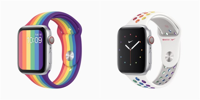 Apple's new Pride Edition Apple Watch bands