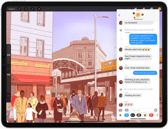 Messages now allows users to further customize conversations by setting a group photo with either an image or an emoji.