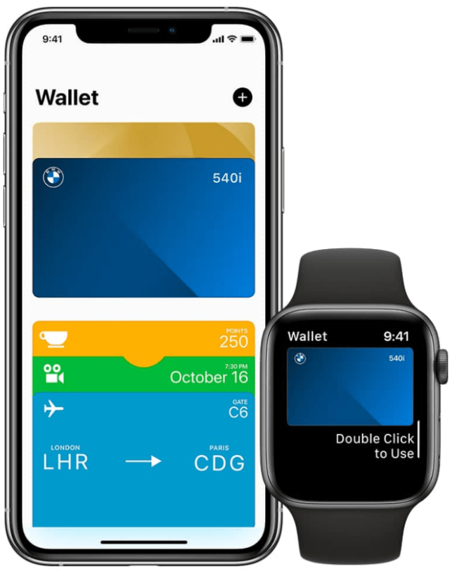 Your BMW Digital Key is stored in the Apple Wallet app