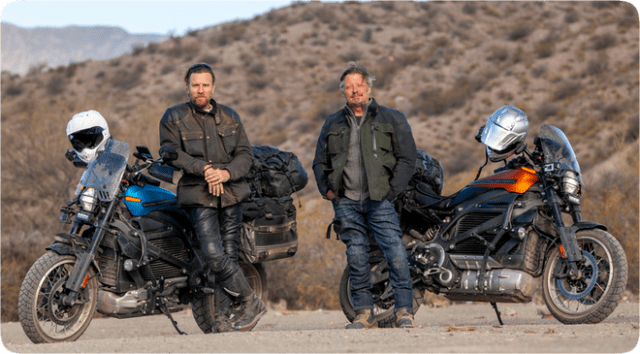 """Long Way Up"" reunites Ewan McGregor and Charley Boorman for a new motorbike adventure through South and Central America."