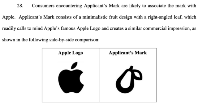 Apple takes legal action against 'Prepear' company's pear-shaped logo