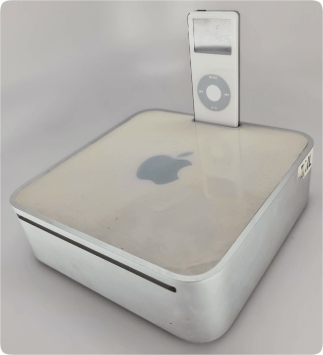 Apple prototype Mac Mini with a built-in iPod dock