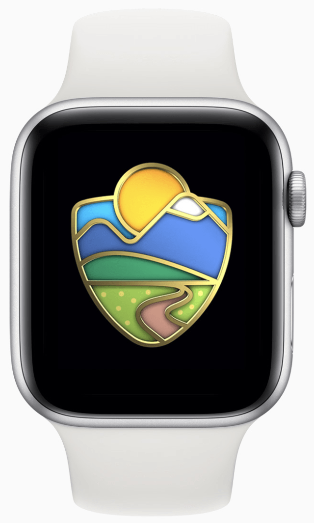 Apple Watch users can celebrate with an Activity Challenge inspired by national parks on August 30.