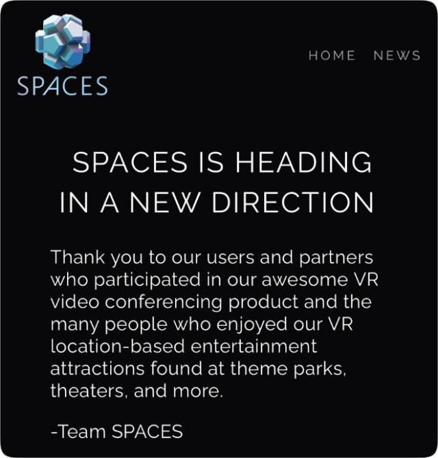 Apple acquires VR startup Spaces