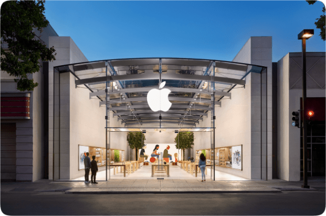 Apple expands 'Express' retail store format ahead of Christmas shopping season. Image: Apple Palo Alto
