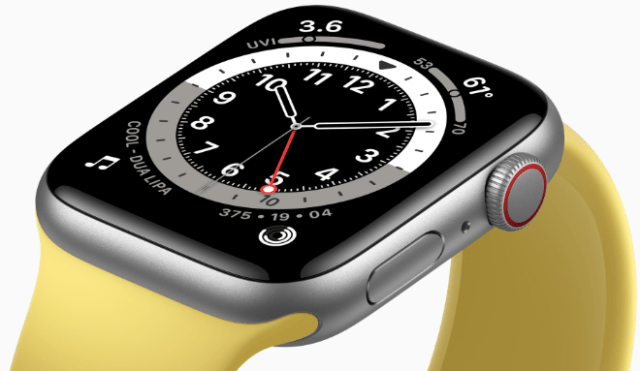 Apple Watch SE features the largest and most advanced Retina display.