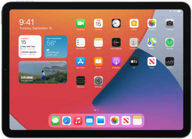 iPadOS 14 offers powerful new features and functions, making the iPad experience even more distinct and versatile.