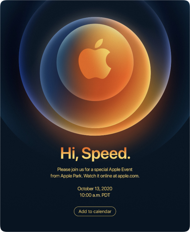 Apple announces special event 'Hello, speed' on October 13