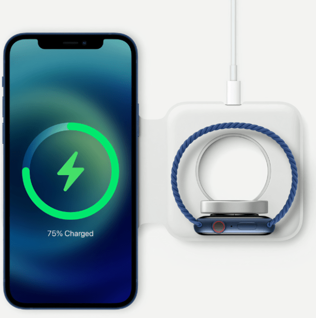 Apple's innovative new MagSafe system enables seamless, high-powered wireless charging and easy-to-attach accessories.