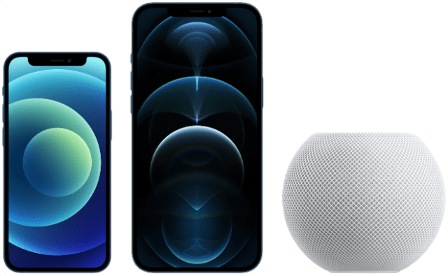 Customers can order the all-new iPhone 12 mini, iPhone 12 Pro Max, and HomePod mini beginning tomorrow, Friday, November 6.