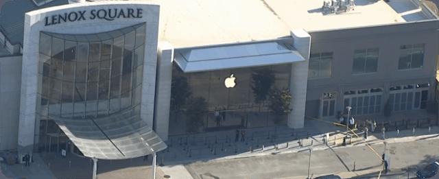 The new Apple Retail Store in Atlanta's Lenox Square Mall