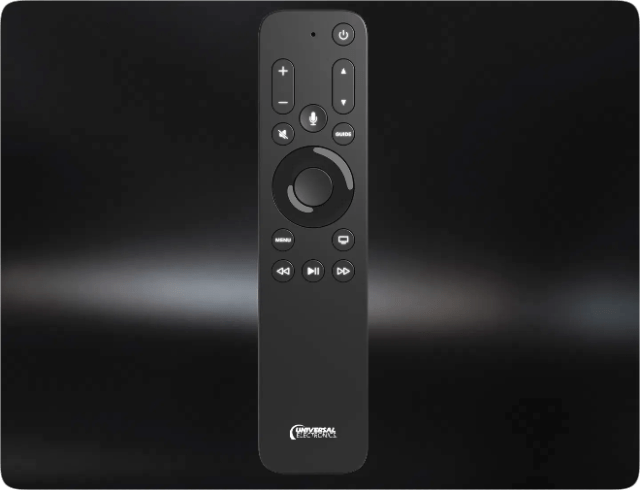 New Apple TV remote from UEI is optimized for live TV experiences, including quick EPG access and channel surfing
