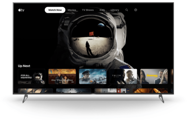 Sony begins Apple TV app roll-out on select 2018-2020 TVs