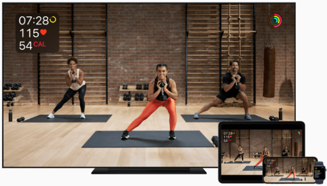 Apple Fitness+, the first fitness service built around Apple Watch, launches Monday, December 14th.