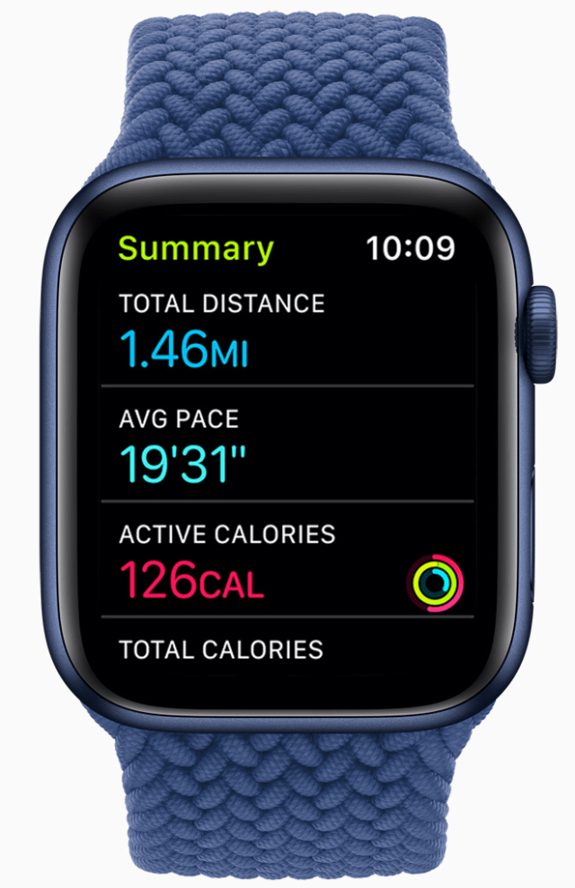 Once a Time to Walk episode is selected on Apple Watch, a Walk workout automatically begins and users can go at any pace that suits them.