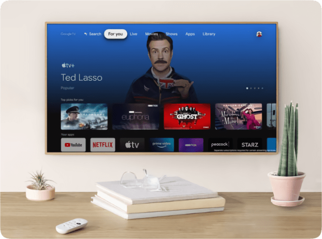 Apple TV+ is now available globally on Chromecast with Google TV