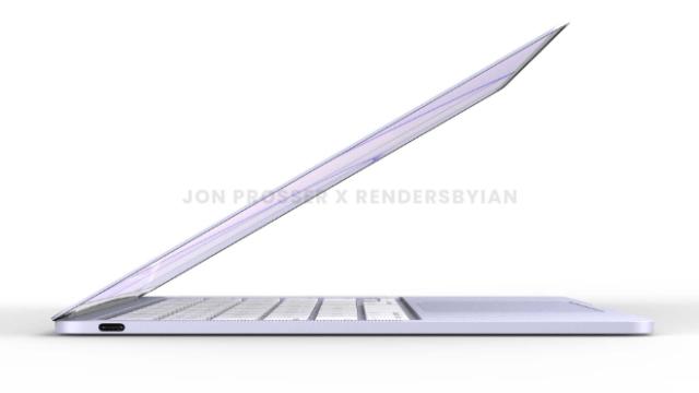 Leaker Jon Prosser reveals Apple's all-new MacBook Air in new renders