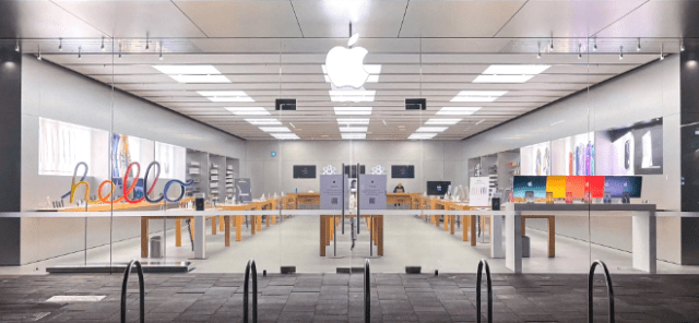 iMac, iPad Pro, and Apple TV 4K arrive in Apple Retail Stores with eye-catching window displays