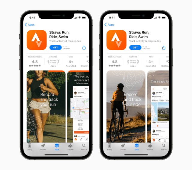 Developers can now create multiple, custom product pages to showcase different features, capabilities, or content of their app for different users.