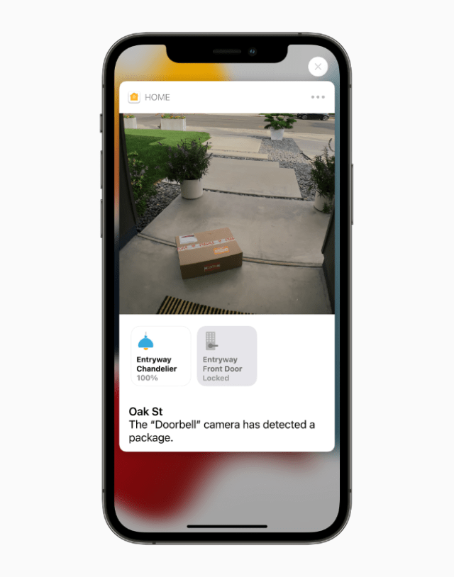 iCloud+ expands built-in support for HomeKit Secure Video, so users can connect more cameras than ever before in the Home app, while giving them end-to-end encrypted storage for home-security video footage that will not count against their storage capacity.