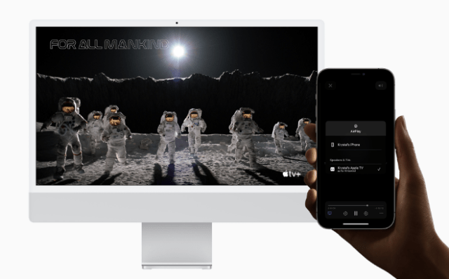 AirPlay brings the Mac to life in all-new ways.