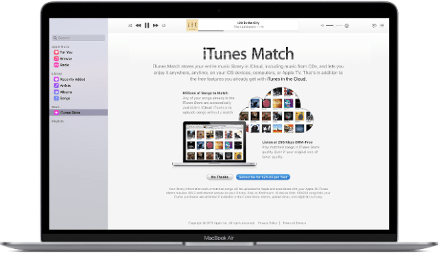 iTunes Match users hit with widespread issues