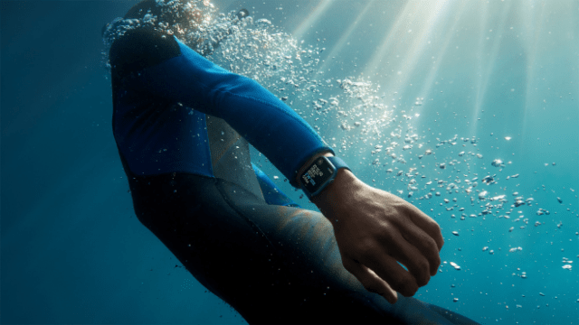 Apple Watch Series 7 maintains a WR50 water resistance rating.