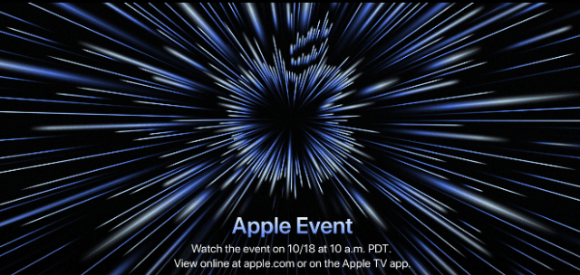 It's official: Apple to hold special event on October 18th