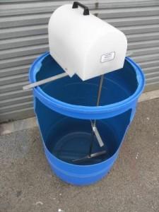 200 litre drum agitator 1