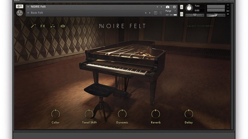 Native Instruments Noire (KONTAKT) Full Crack Free Here!