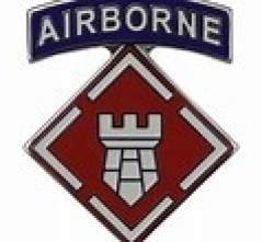 th (1)Airborne Combat Engineer patch