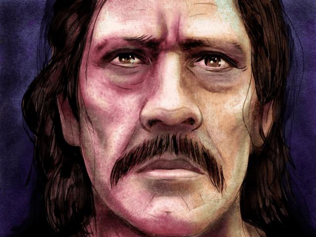 Danny Trejo by Chris Seddon