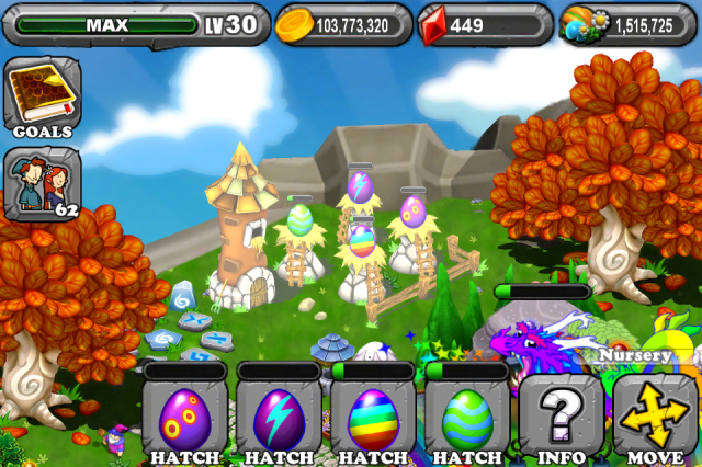 DragonVale Butterfly Dragon Egg