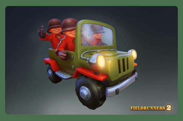 Fieldrunners 2 Transport_Jeep