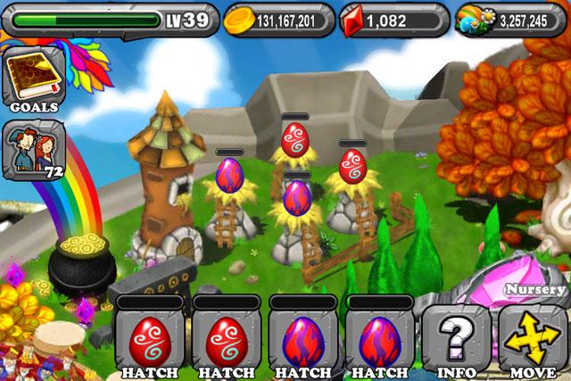 DragonVale Smoke Dragon Egg