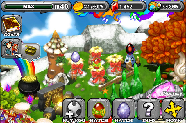 DragonVale: How to breed a Gift Dragon