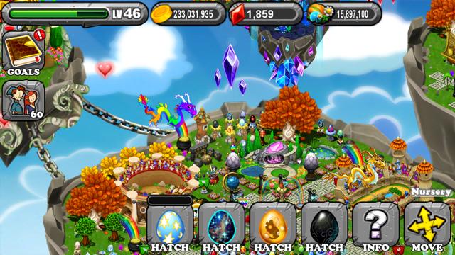DragonVale Phantom Dragon Egg