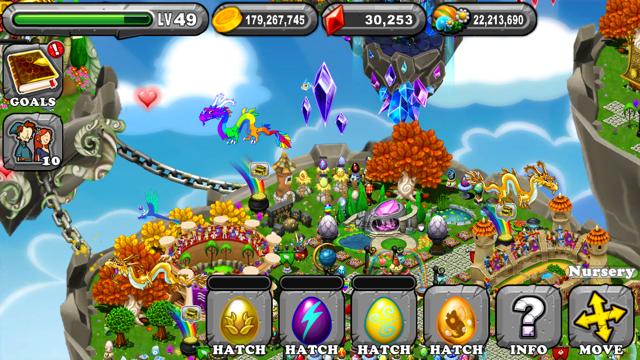 Dragonvale Victory Dragon Egg