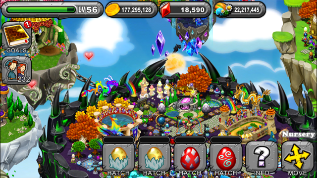 DragonVale Bicentennial Dragon Egg