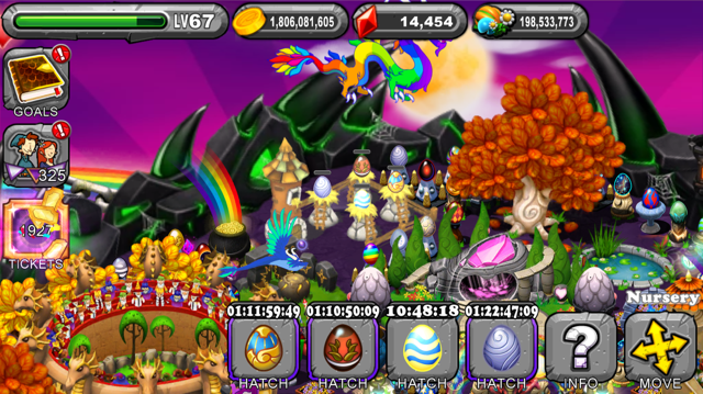 DragonVale Muse Dragon Egg
