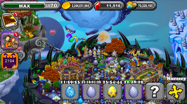 DragonVale Lycan Dragon Egg