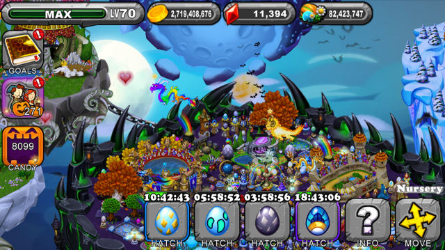 DragonVale Pharaoh Dragon Egg
