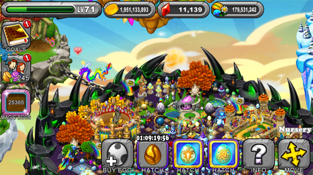 Dragonvale Chrysalis Dragon Egg