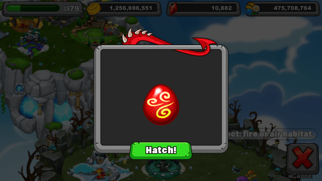 Dragonvale smolder dragon egg