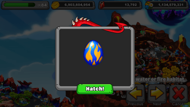 Dragonvale Steam Dragon Egg