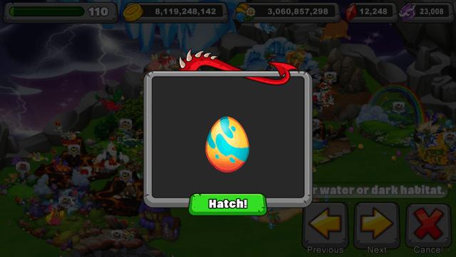 Dragonvale Sunscorch Dragon Egg