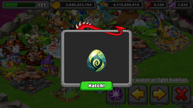 Dragonvale Limulimu Dragon Egg