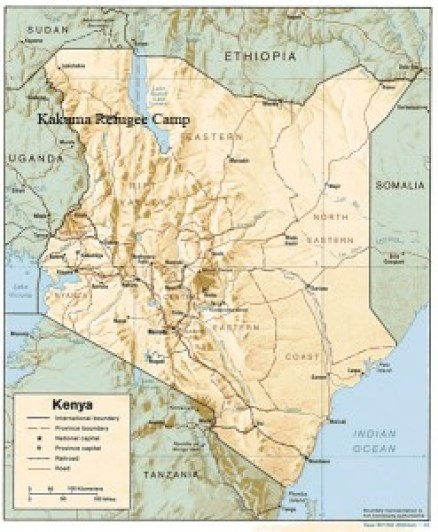 Kakuma refugee camp is a crime ridden, dehydrated, temporary home for around 180,000 refugees from Kenya's neighbouring countries.