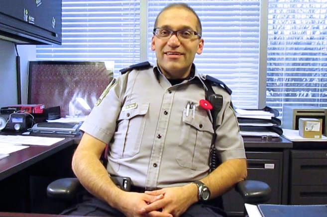 In his almost 25 year career, Sgt. Marcel Roth now takes care of the administrative side of University of Alberta Protective Services (UAPS).