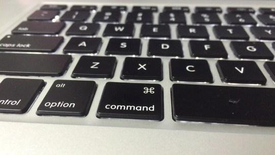 君は command キー を使っているか?